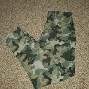 Nwot Camouflage leggings